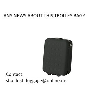 Bag lost at parking place or shuttle the last day of sha.jpg